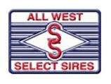 All West Select Sires logo