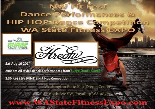 Kreativ Mnds Hip Hop dance competition & Surge Dance Center Performances.