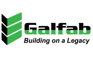 "Galfab ""Building on a Legacy"" logo"