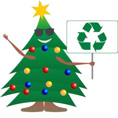 reciclando arbol navidad