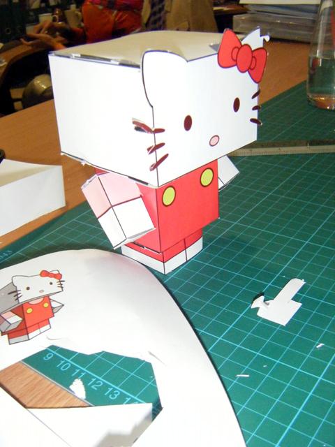Cube Craft Hello Kitty