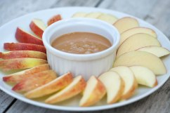 APPLE: Apples with caramel dip