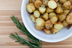 ROSEMARY: Rosemary roasted potatoes