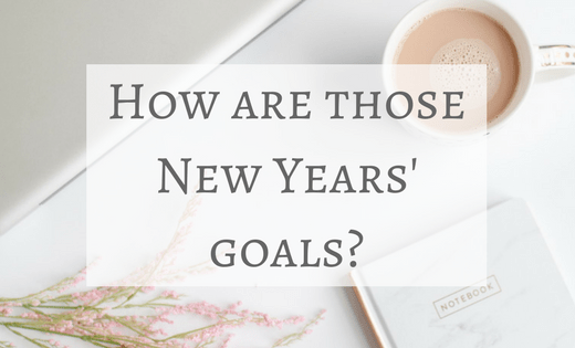 Re-evaluating goals in March