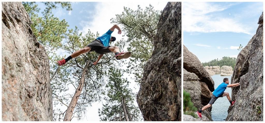 rock climbing custer state park