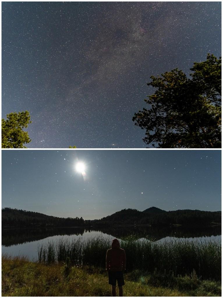 galaxy night photography