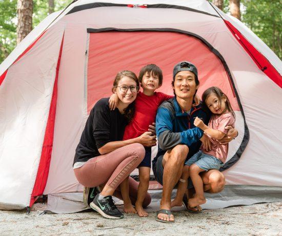 devil's fork state park camping