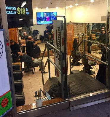 Russian barbershop trump