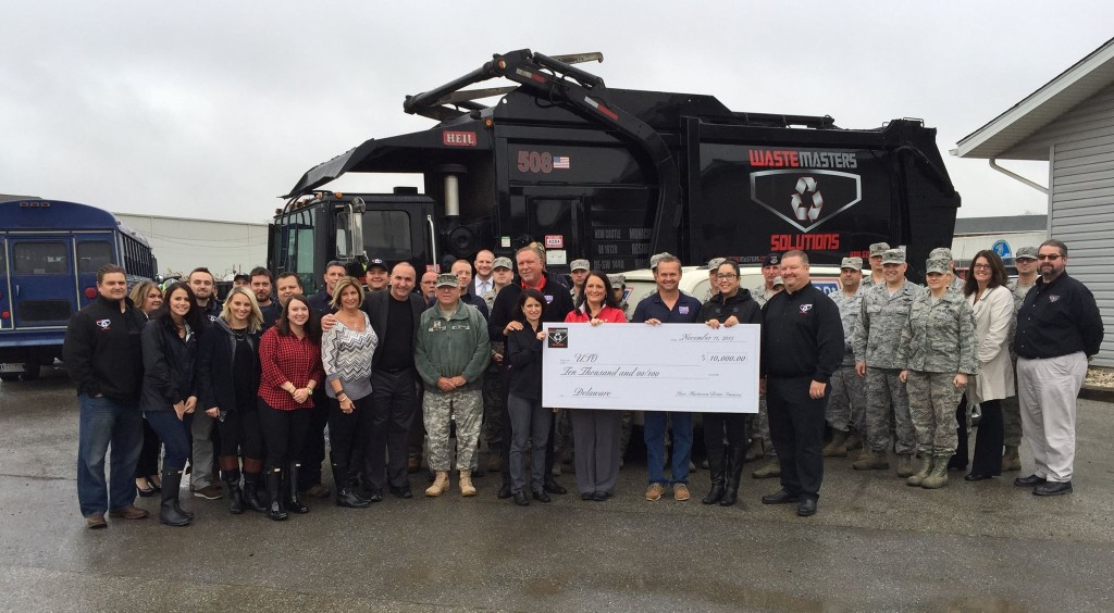 Waste Masters Solutions Supports USO of Delaware Team