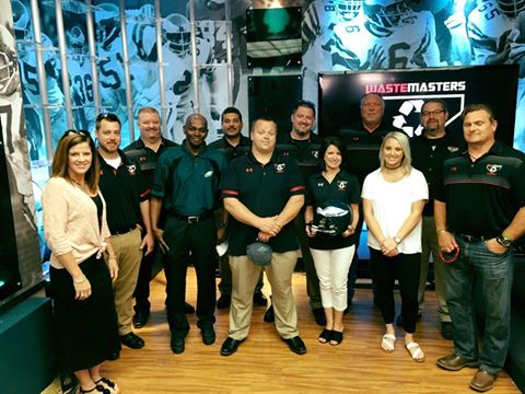 Waste Masters Partners with the Eagles
