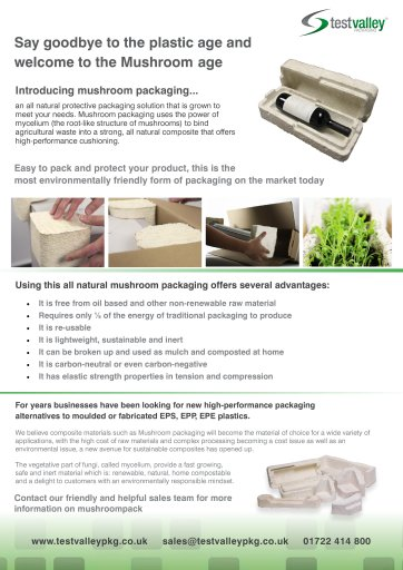 Packaging Industry advertisment