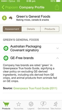 eco-ethical shopping UX APPs
