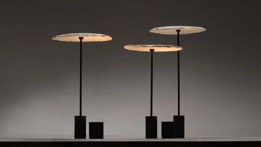 Mycelium lamps