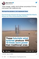 WIND POWER back down to Earth