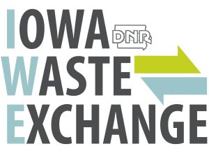 Iowa Waste Exchange offers business waste reduction assistance.