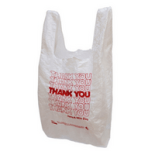 Other recyclable items include plastic shopping bags.