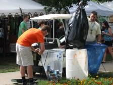 Festival Volunteers understand how the program works!