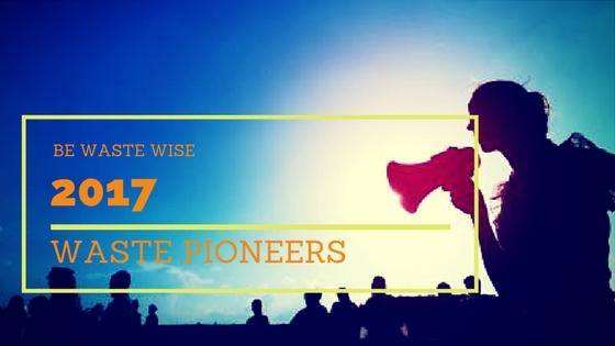 2017 be Waste Wise Pioneers List – Organizations