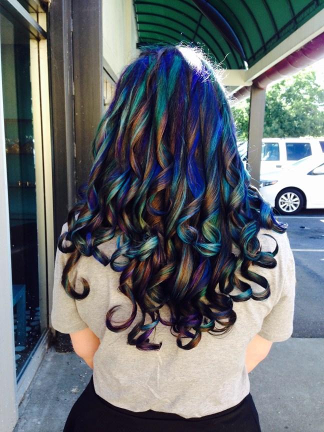 OilSlick Hair