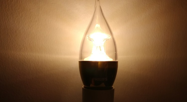 Philips Candle LED Bulb Teardown