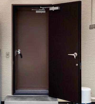防音ドア2重設置