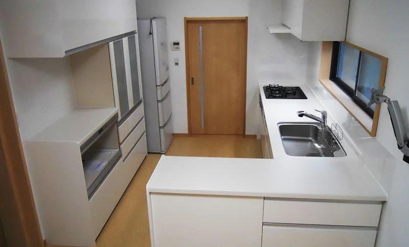 キッチンリフォーム-L型