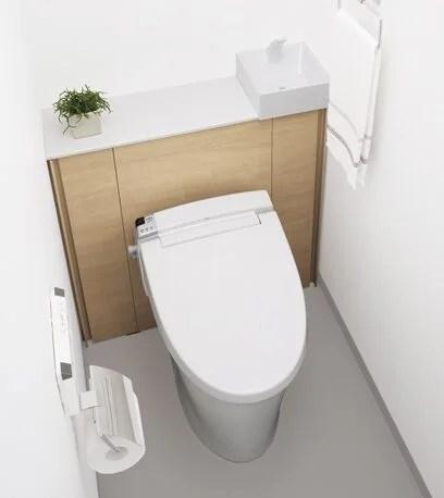 トイレ-すっきり収納