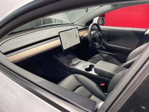 Appearance of driving sheet of Tesla Model 3