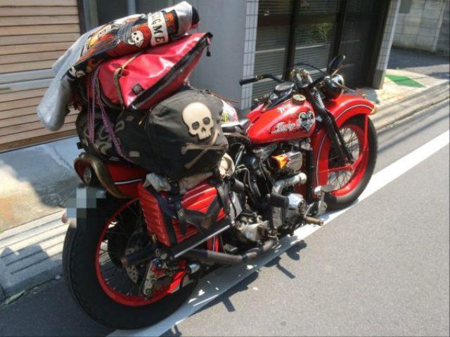 積載バイク