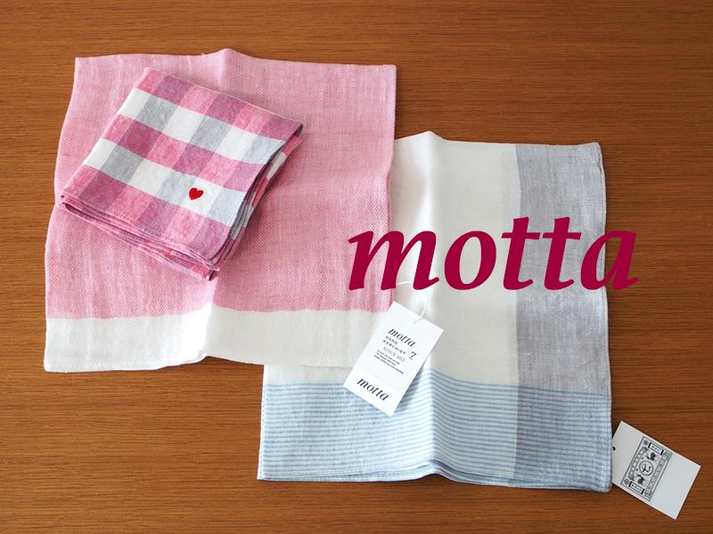 mottaのハンカチを購入