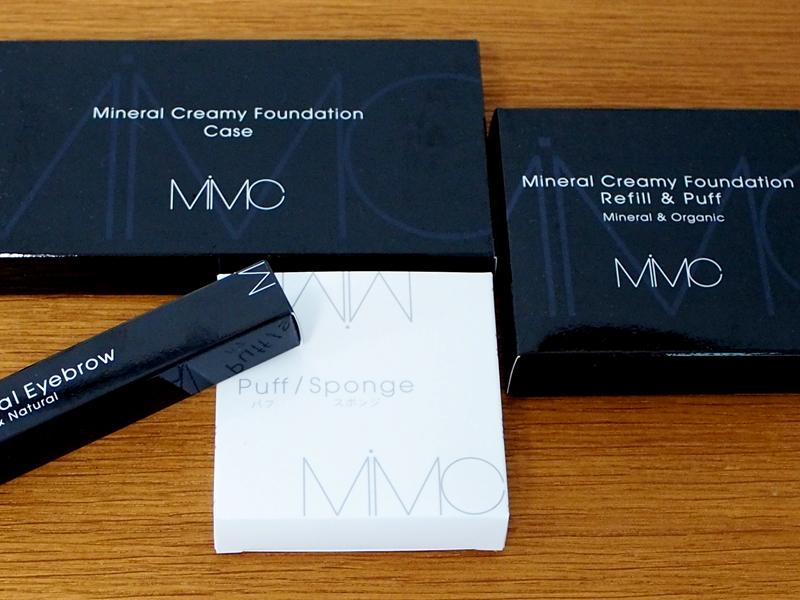 MiMCのミネラルクリーミーファンデーション