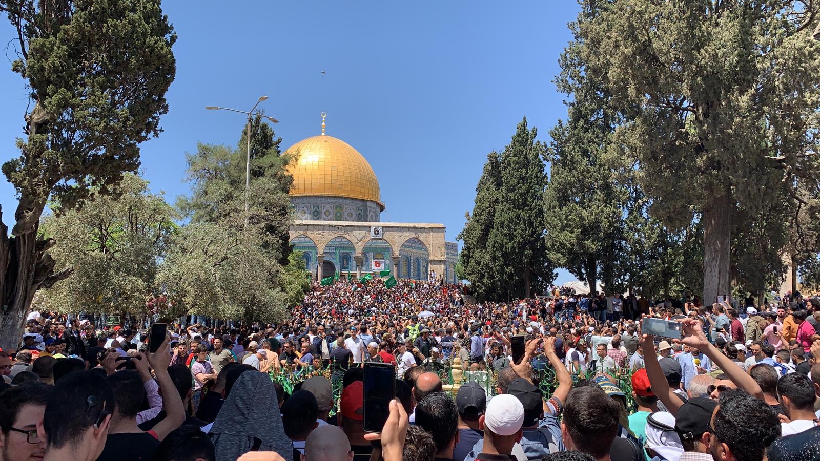 دعوة لإقامة مسيرات عربية وإسلامية كبرى نصرة للأقصى