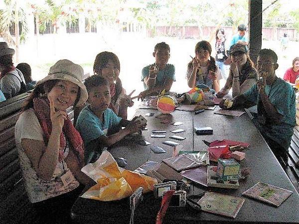 カンボジアボランティア