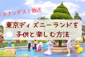 東京ディズニーランドを子供と楽しむ 攻略法【ヒルナンデス放送まとめ】