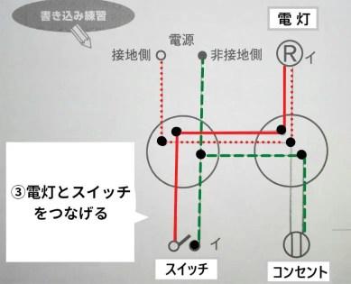 ③複線図の書き方