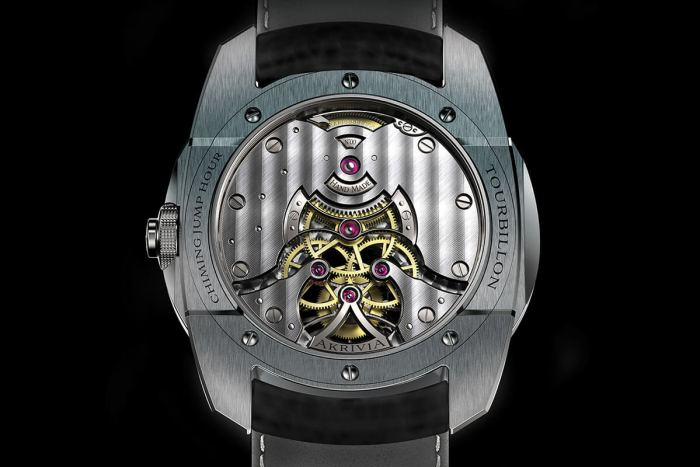 Tourbillon Chiming Jump Hour - mouvement