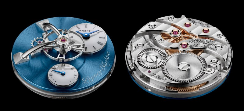 MB&F Legacy Machine LM101 Platinum-engine