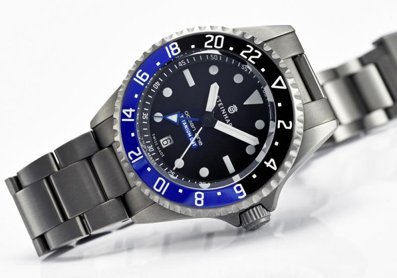 Ocean Titanium 500 GMT Premium