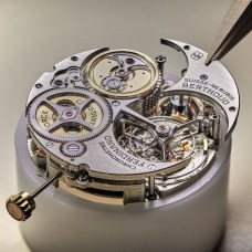 Chronomètre_FERDINAND_BERTHOUD_FB_making_of_Bridge assembled to the movement
