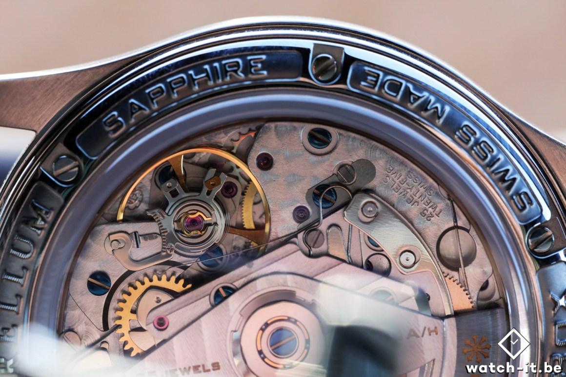 Brellum Duobox Chronomètre Deep Blue back-2