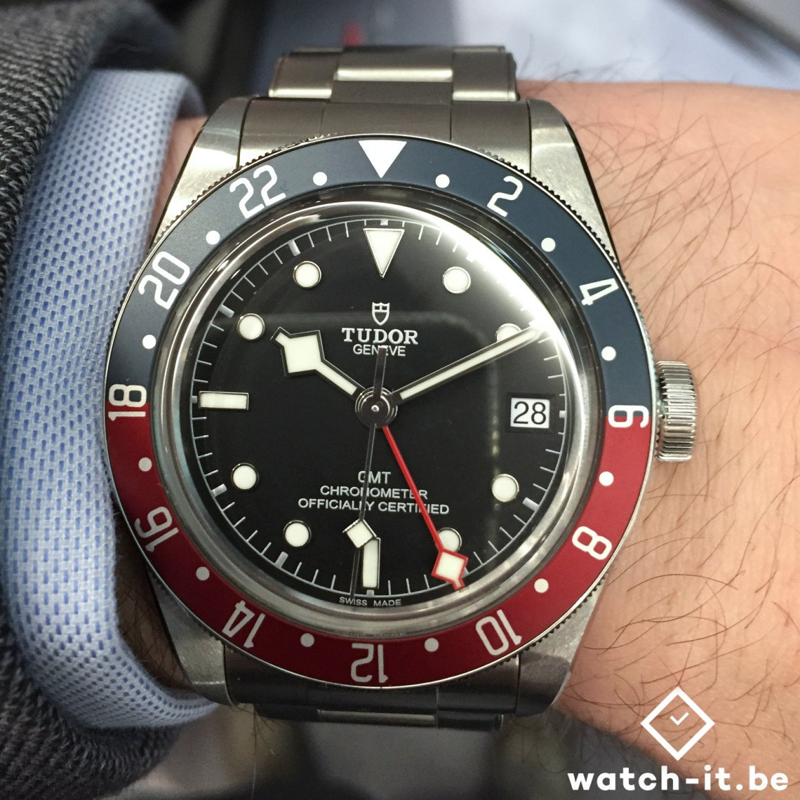 Tudor Black Bay GMT Pepsi - 79830RB