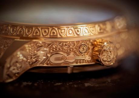 Making of - Engraved case L.U.C Perpetual T Spirit of La Santa Muerte 161941-5005 (1)