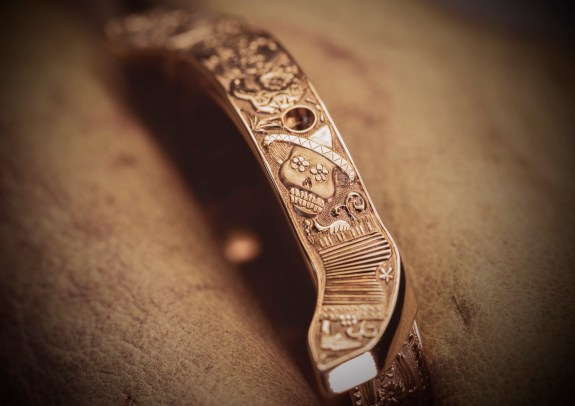 Making of - Engraved case L.U.C Perpetual T Spirit of La Santa Muerte 161941-5005 (6)