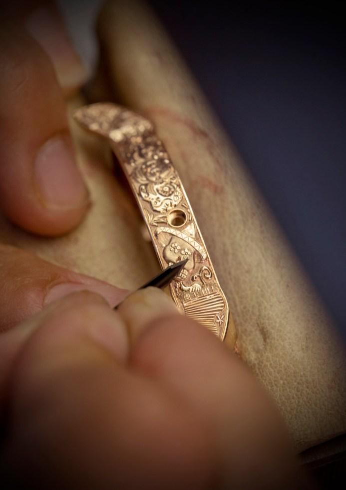 Making of - Engraved case L.U.C Perpetual T Spirit of La Santa Muerte 161941-5005 (7)