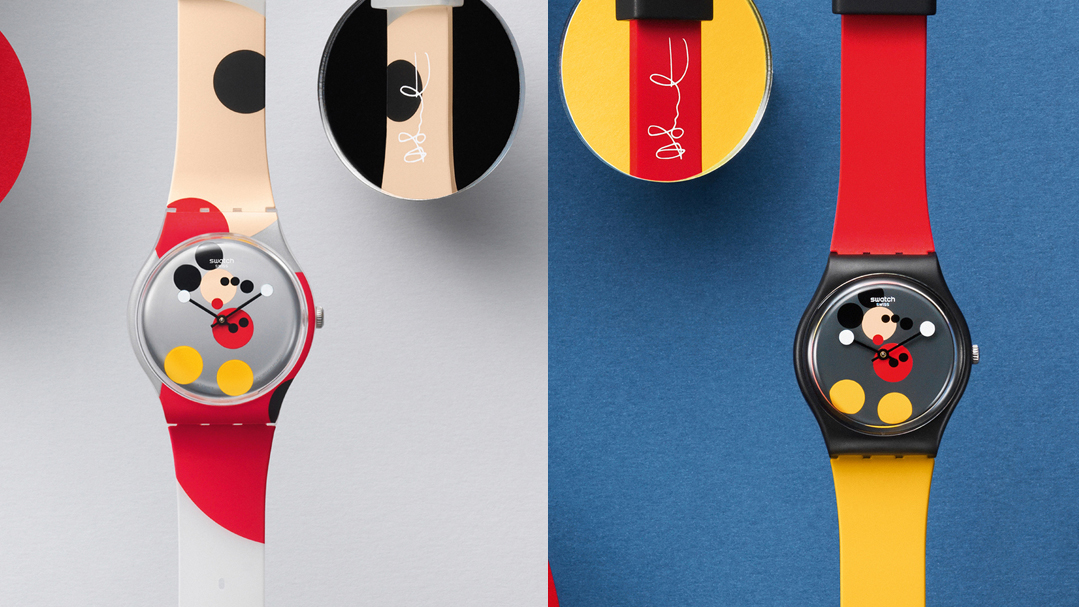 Swatch Mickey Mouse