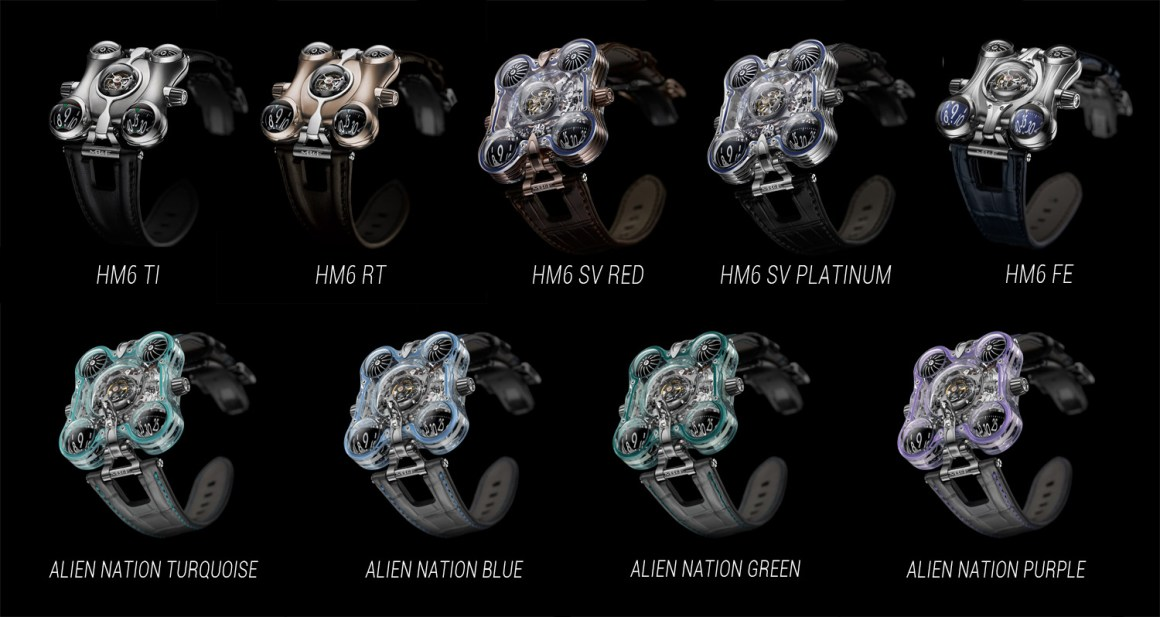 MB&F HM6 Collection