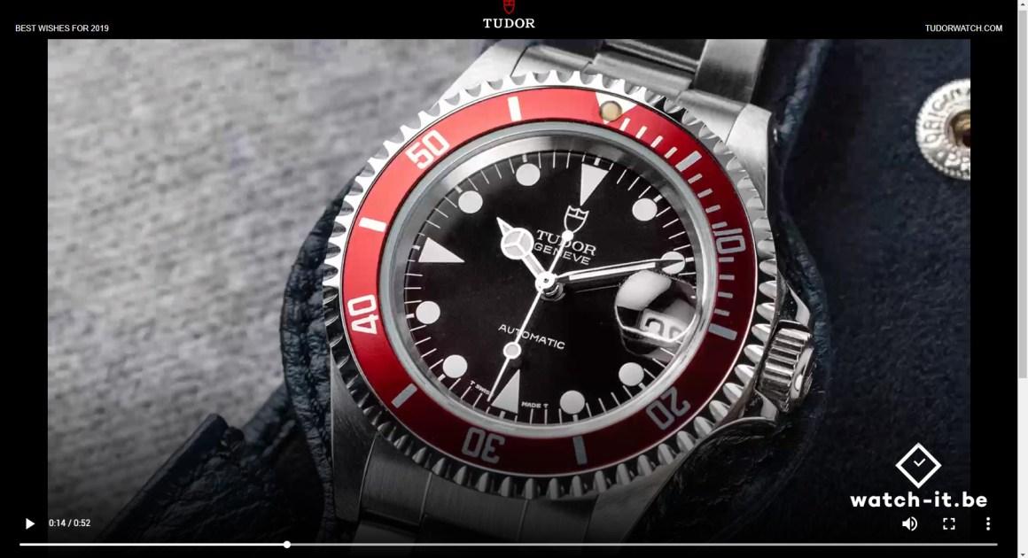Tudor Submariner Red