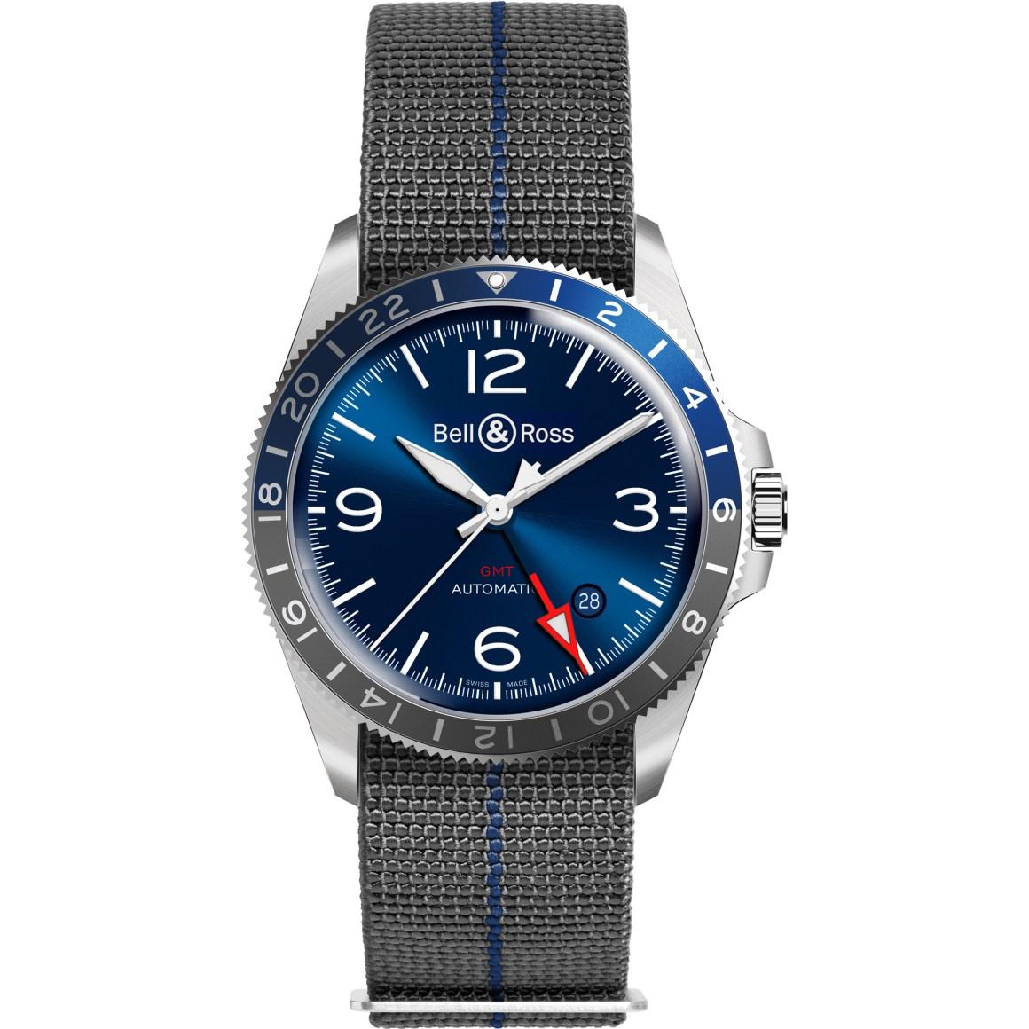 Bell & RossBR V2-93 GMT Blue