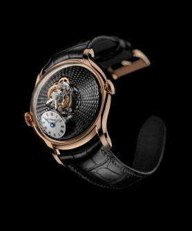 MB&F Legacy Machine FlyingT or rose