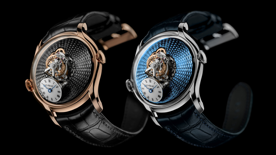 MB&F Legacy Machine FlyingT or rose ou platine